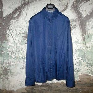 Les Hommes Blue Dress shirt - size 52